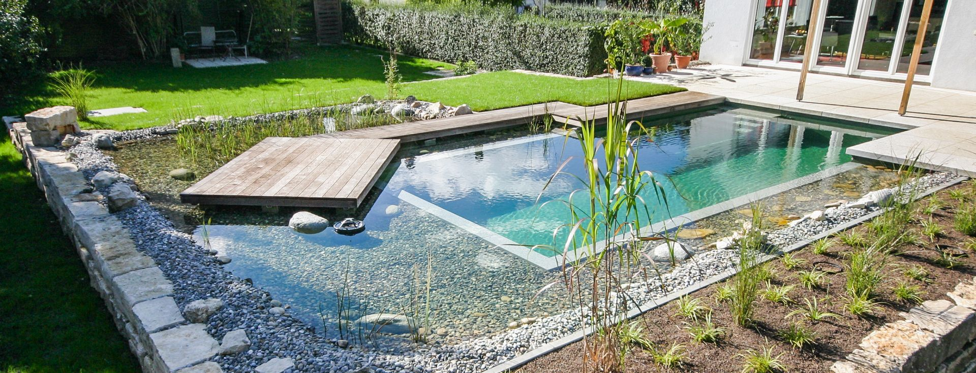 Grimm Pools Garten Kirchheim Teck